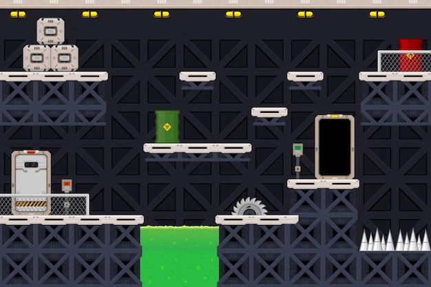 Sci-fi game tileset