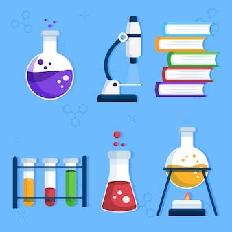 Science lab objecten collectie