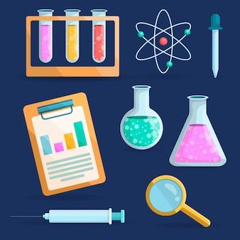 Science lab-objecten