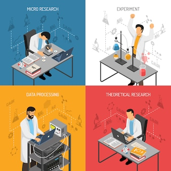 Science lab ontwerpconcept