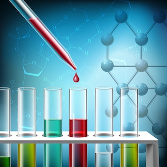 Science research closeup