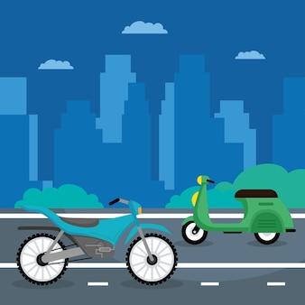 Scooter en motorfietsen