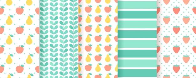 Scrapbook naadloze patroon. geometrische trendy pastelkleuren trendy zomer textuur.