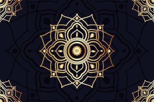 Screensaver met mandala-ontwerp