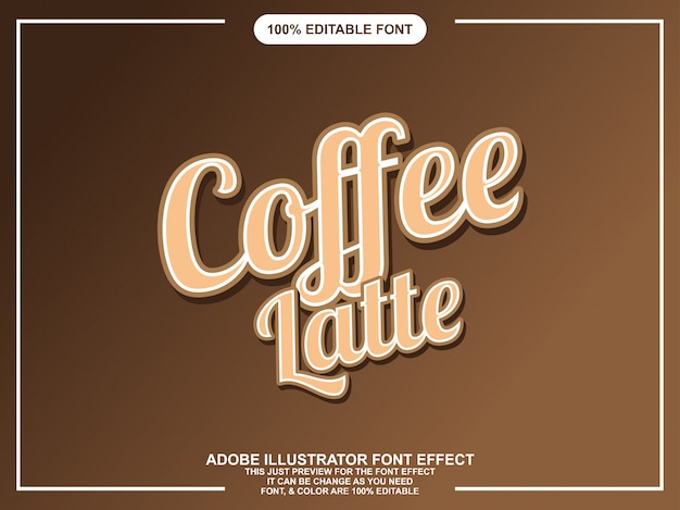 Script grafische stijl bewerkbare teksteffect