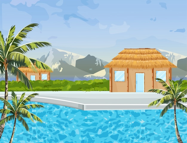 Seaside huizen
