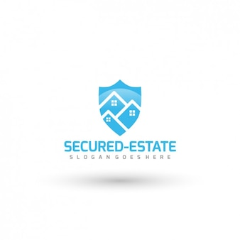 Security company template logo
