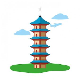 Seigantoji pagode pictogram