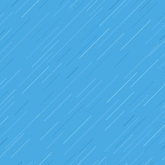 Seizoen regen blauwe naadloze achtergrond