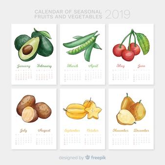 Seizoenskalender van groenten en fruit