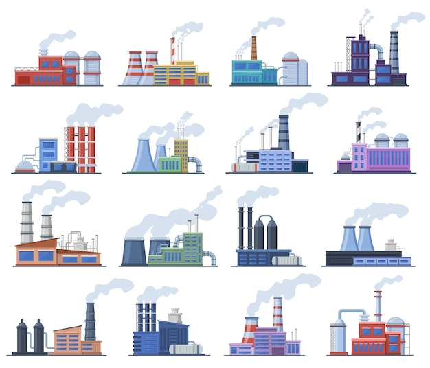 Selectie van industriële gebouwen