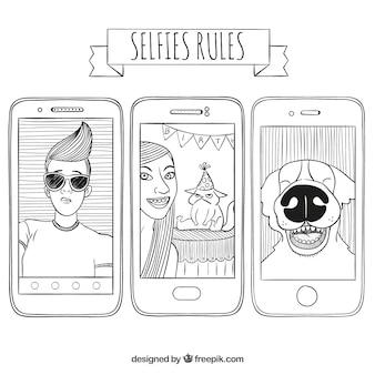 Selfies regels