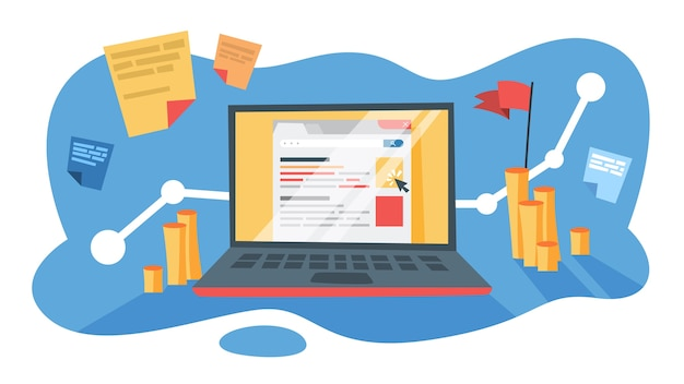 Sem-zoekmachinemarketing voor zakelijke promotie op internet