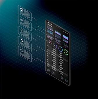 Serverruimte, blockchain-technologie, crypto-valutamining, big data-verwerking. man op computer online mijnbouw bitcoin concept. bitcoin-boerderij.