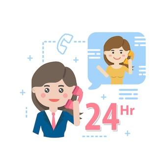 Services, klantenservice, callcenter-ondersteuning.