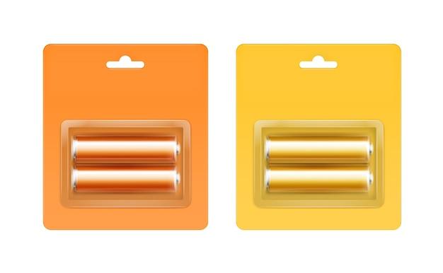 Set batterijen in blisterverpakking