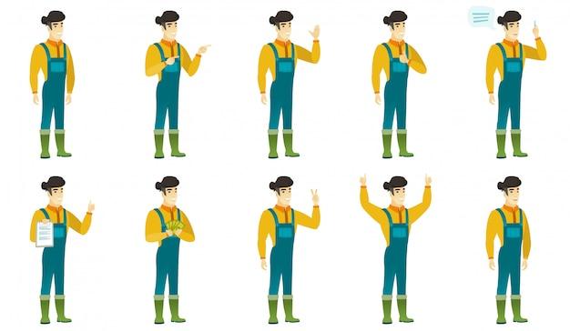 Set boer karakters