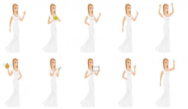 Set bruid karakter