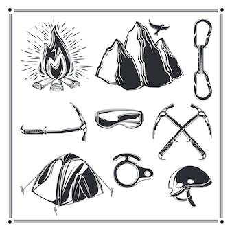 Set camping elementen