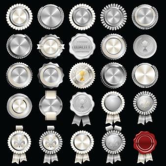 Set certificaat lakzegel en badges