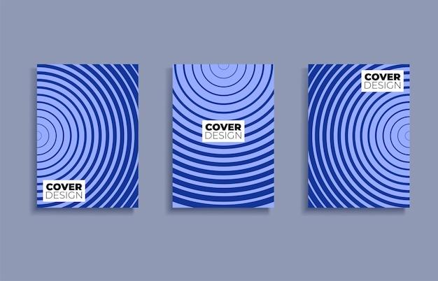 Set covers ontwerpsjablonen achtergrond.