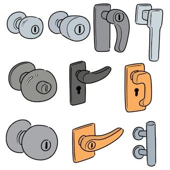 Set deurknop