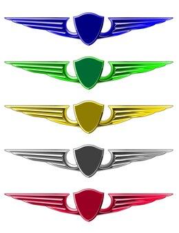Set emblemen