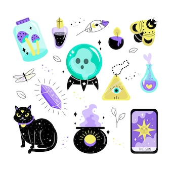 Set esoterische elementen
