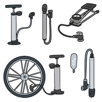 Set fietspomp