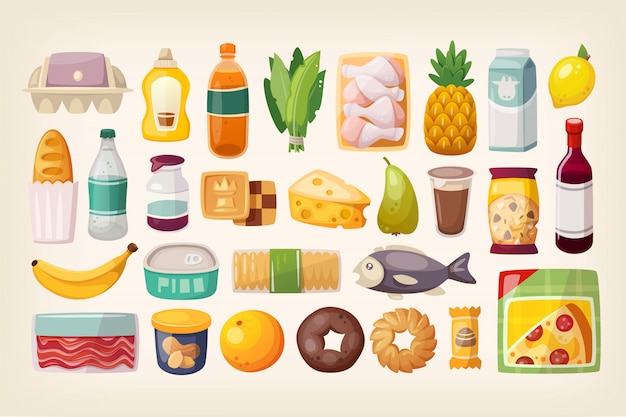 Set gemeenschappelijke goederen en dagelijkse producten