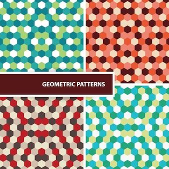 Set geometrische patronen