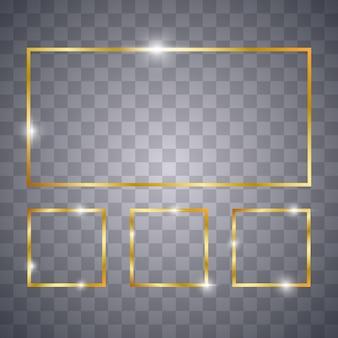 Set gouden frames