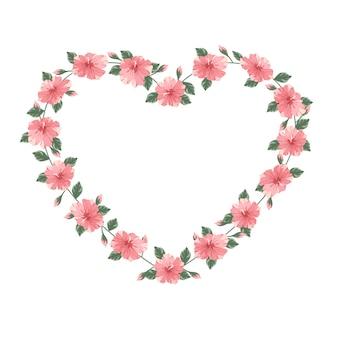 Set hartvormige wortels voor toewijding