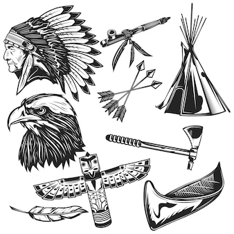Set indiase elementen
