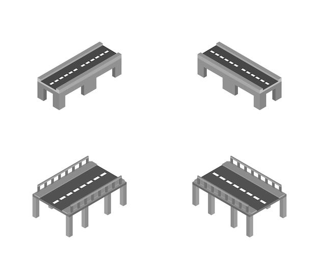 Set isometrische bruggen