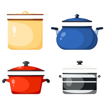 Set keukenpannen, keukenaccessoires