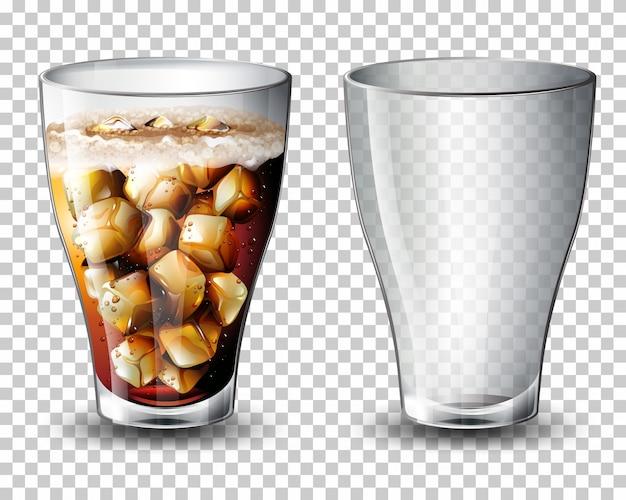 Set koolzuurhoudende drank
