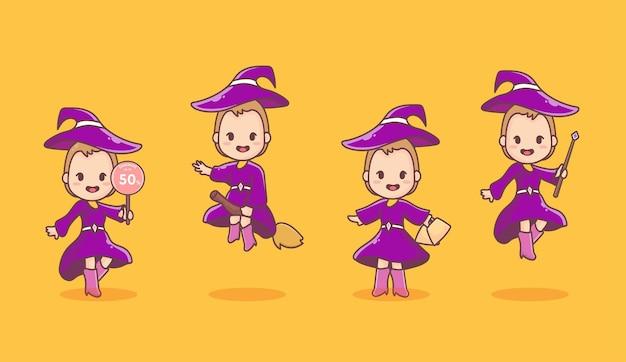 Set meisjesfietsen van baby, peuter, tiener tot volwassene. concept van de ontwikkeling van het kind tot volwassenheid. platte cartoon afbeelding.