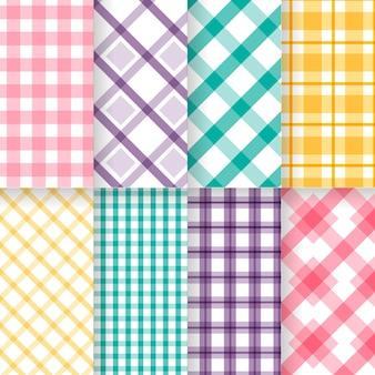 Set pastel pastel patroon