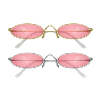 Set realistische zonnebrillen