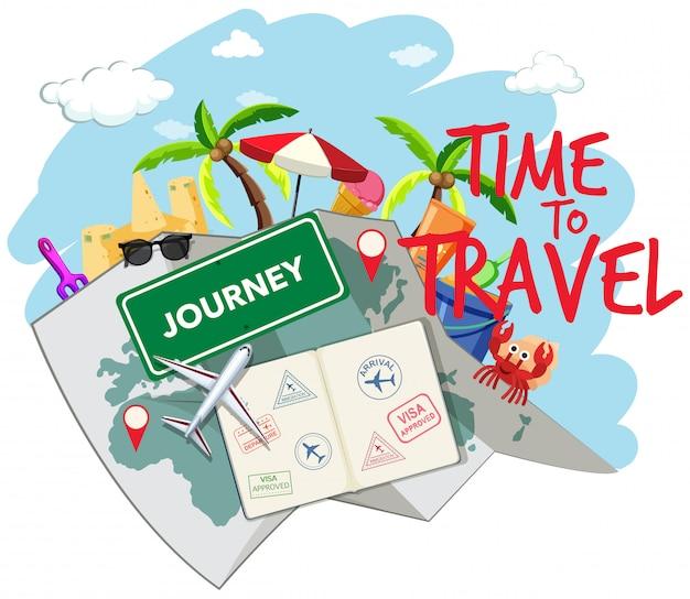 Set reiselementen