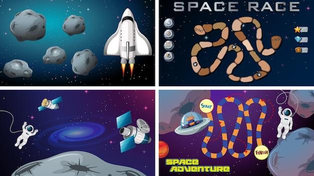 Set ruimtespellen
