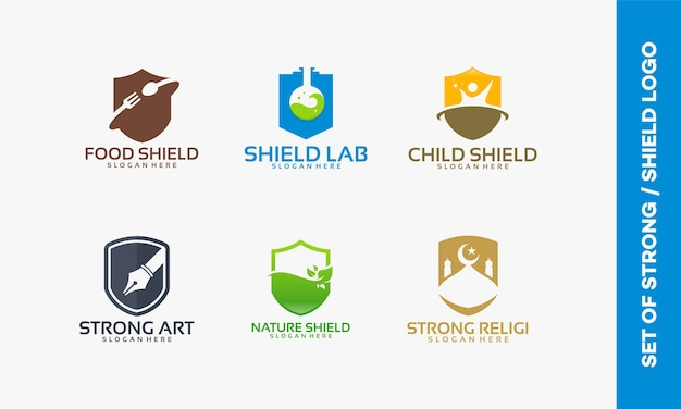 Set shield-logo