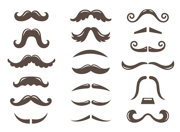 Set snor pictogrammen