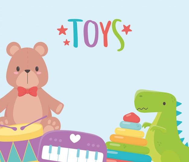 Set speelgoed voor kinderen