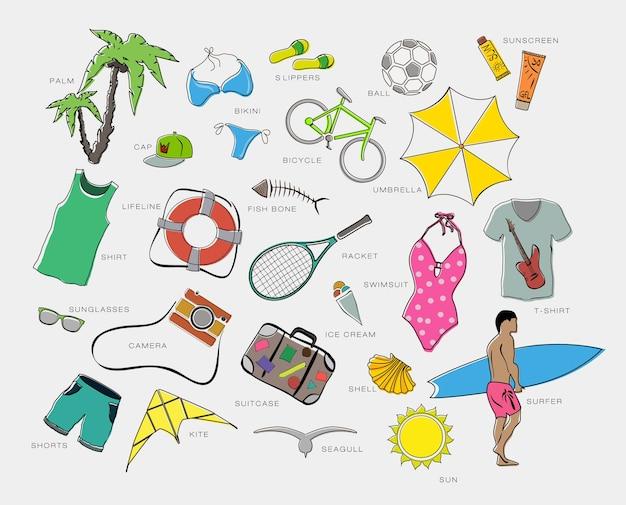 Set speelpakjes kleding entertainment en reizen