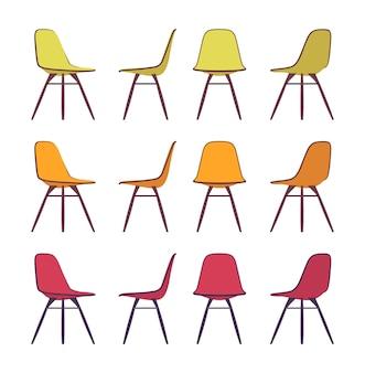 Set stoelen