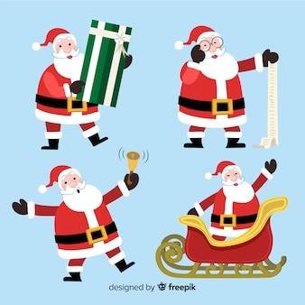 Set tekens van de kerstman