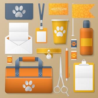 Set tools voor pet groomer