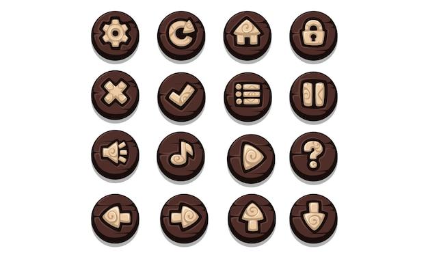 Set ui-elementen voor 2d-games en -apps